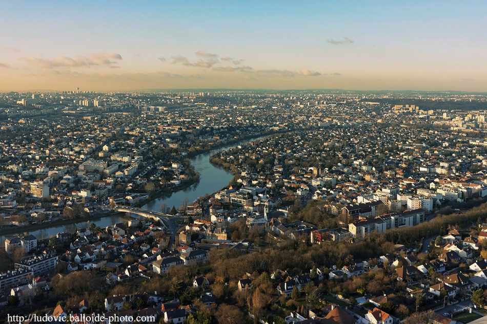 Photo aérienne Bry-sur-Marne