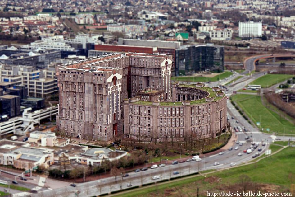 Photo aérienne espaces d'Abraxas