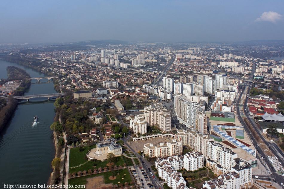Photo aérienne Epinay-sur-Seine
