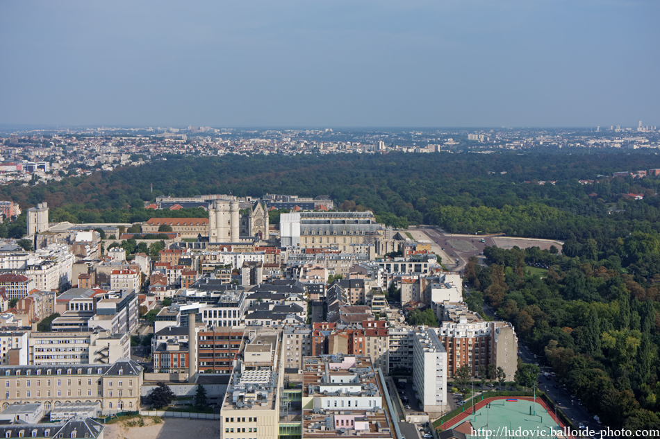 Photo aérienne Vincennes