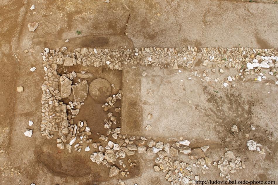 Photo aérienne archéologie