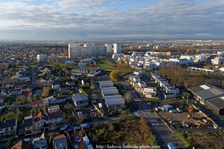 Photo aérienne Clichy-sous-Bois